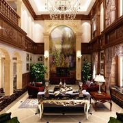 别墅装修客厅图
