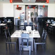 火锅店设计装修背景墙