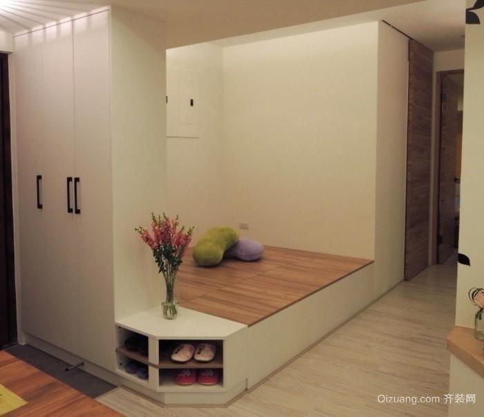 90平米大户型房间欧式榻榻米床装修效果图