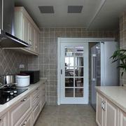 厨房推拉门橱柜设计