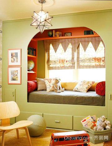 30平米小户型房间日式榻榻米床装修效果图