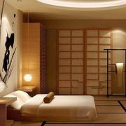 卧室榻榻米床装修色调搭配