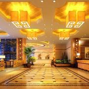 商务酒店大厅吊顶装修