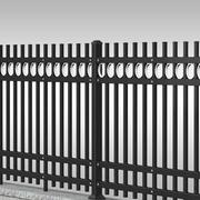 围墙栏杆设计整体图