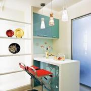 厨房吧台装修吊顶图