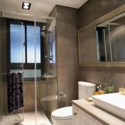 浴室屏风隔断装修飘窗图