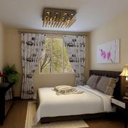 90平方米房屋装修窗帘图