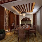 餐厅吊顶装修造型图