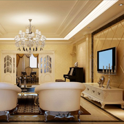欧式客厅装修沙发图