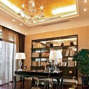 书房设计装修飘窗图