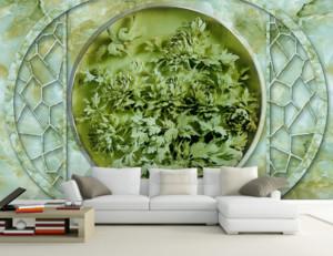 3D立体浮雕背景墙足彩导航效果图