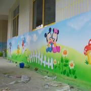 幼儿园壁画图案设计