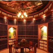 东南亚风格酒柜装修楼梯图