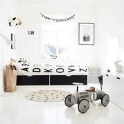 儿童房装修床铺图