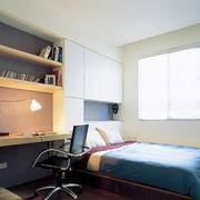榻榻米床装修卧室图