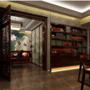 东南亚风格书房装修色调搭配