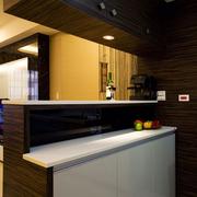 厨房吧台装修整体图