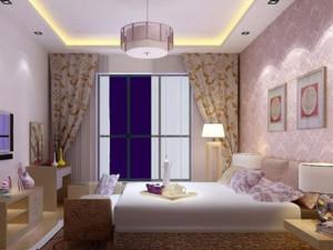 都市清新家庭韩式卧室装修效果图