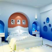 儿童卧室装修背景墙图