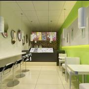 奶茶店装修灯光设计