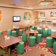 儿童主题餐厅装修背景墙图