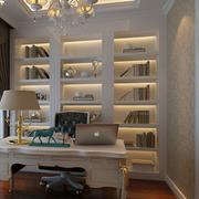 现代书房设计效果图
