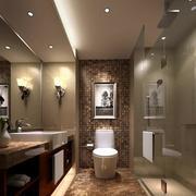 小卫生间装修背景墙图