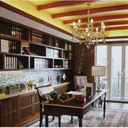 东南亚风格书房装修效果图