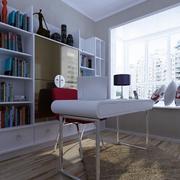 书房设计装修桌椅图
