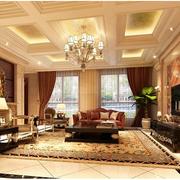 东南亚风格单身公寓装修效果图