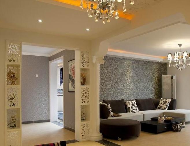 90平米简欧风格 客厅垭口 装修效果图 齐装网装