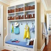 客厅鞋柜装修造型图