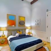 儿童房卧室装修床头灯设计