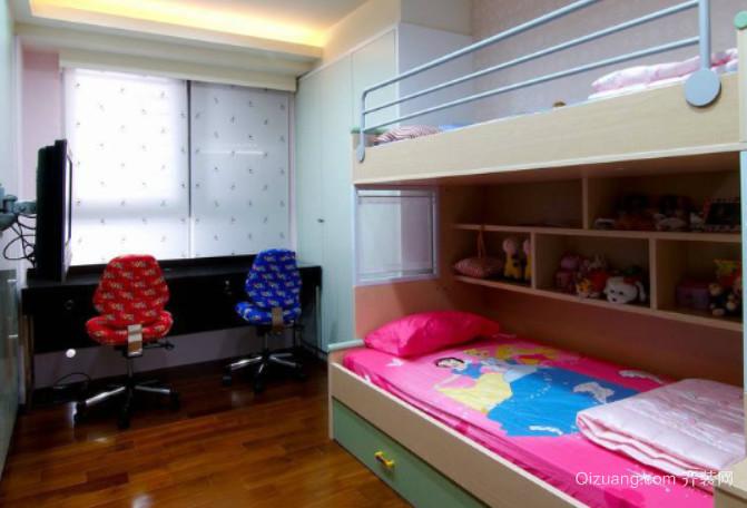 全新2015儿童简约卧室装修效果图