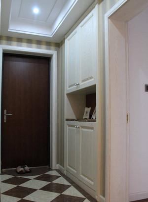 90平米泫然一新的欧式客厅玄关装修效果图