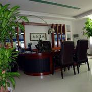 办公室装修背景墙图