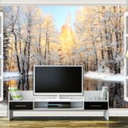 客厅电视背景墙装修图案设计