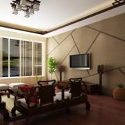 硅藻泥背景墙设计装修效果图