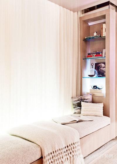唯美卧室飘窗装修风格效果图