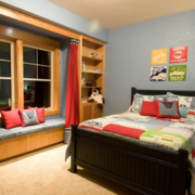 儿童房卧室装修榻榻米图