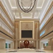 大厅形象墙设计装修背景墙图