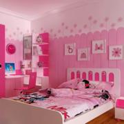 儿童房卧室装修背景墙