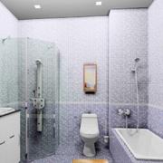 浴室装修瓷砖背景墙