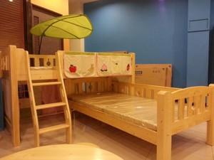 简约实用小户型儿童卧室双层床装修效果图