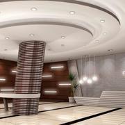 大厅形象墙设计装修灯光设计