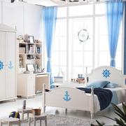 儿童卧室装修色调搭配