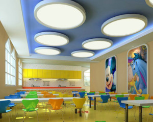 儿童主题餐厅装修效果图