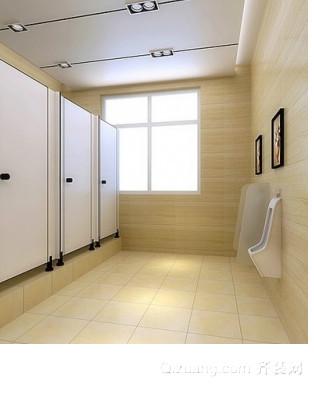 飞机场公共厕所装修效果图