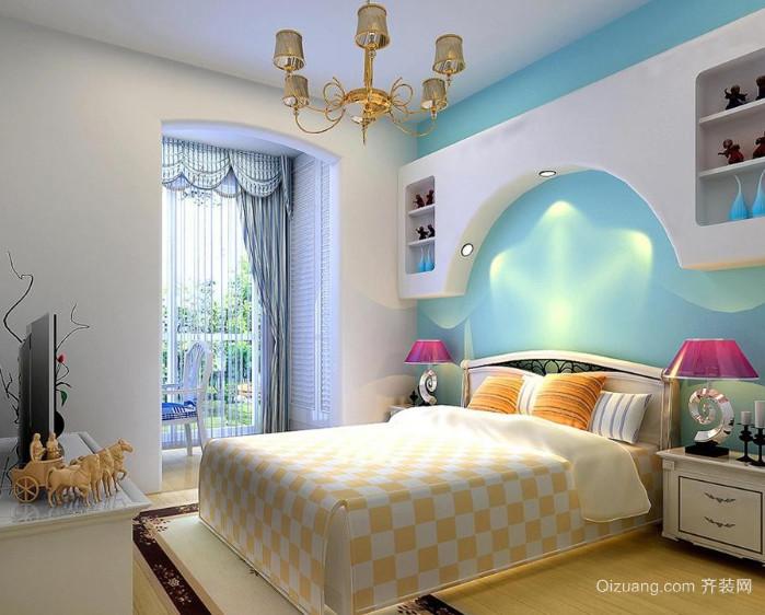 2015小清新设计风格卧室装修效果图