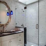 浴室装修隔断效果图